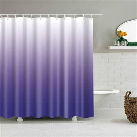 gradient shower curtain