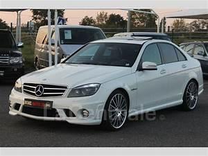Mercedes Classe C Blanche : mercedes classe c iii 63 amg avantgarde bva7 speedshift plus 2010 essence occasion aussonne ~ Gottalentnigeria.com Avis de Voitures