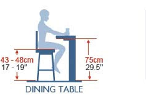 bar stool sizing guide atlantic shopping
