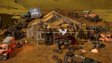 shoot  robots game giant bomb