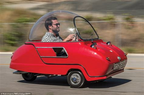 Trident bubble car goes to auction for £80,000 | Daily ...