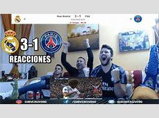 REAL MADRID VS PSG 31 REACCIONES HIGHLIGHTS CHAMPIONS