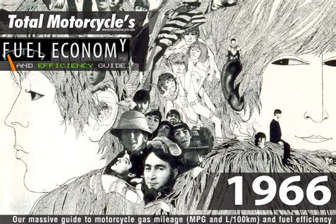 1966 Motorcycle Model Fuel Economy Guide In Mpg And L/100km