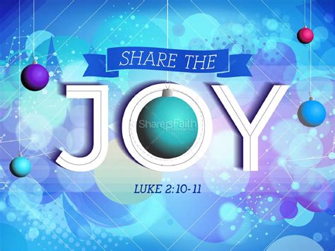 share  joy christmas christian powerpoint christmas