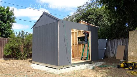 homemade modern ep building  solar powered workshop
