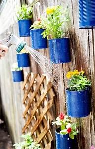 1001 tutoriels et idees de recyclage boite de conserve With idee pour jardin exterieur 7 1001 tutoriels et idees pour fabriquer une jardiniare en