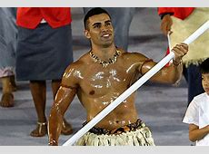 Tonga's OiledUp FlagBearer Was The Highlight Of The