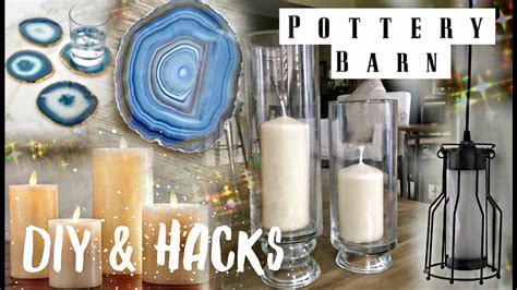 diy pottery barn inspired living room decor