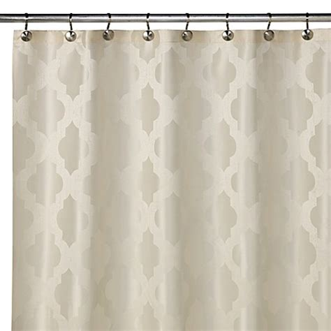 buy tangiers      shower curtain  ivory