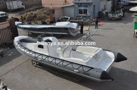 Used Tour Boats For Sale by China Liya 27ft Rib Boat Electric Motor Fishing Boat Tour