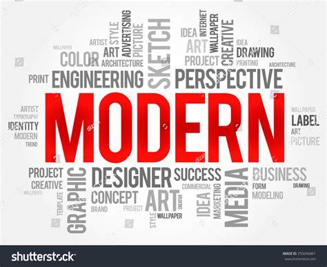 modern word cloud business concept stock vector