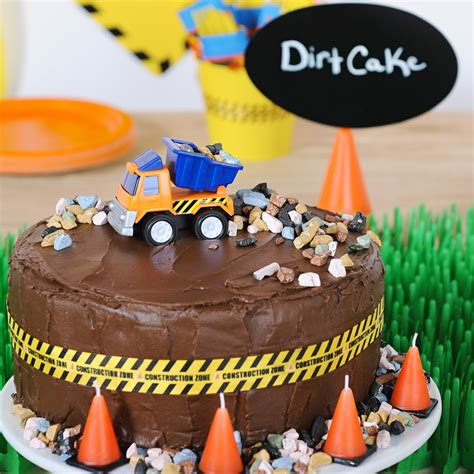Construction Cake Decorations by Construction Pals Birthday Birthday Express
