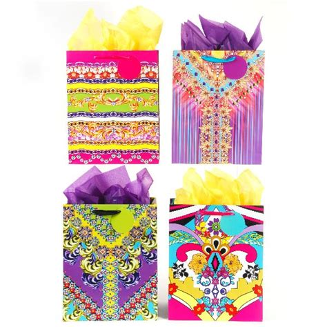 large fashion textiles gift bags assorted