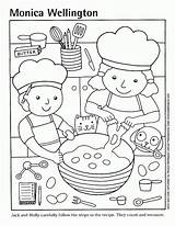 Coloring Cooking Pizza Template Popular sketch template