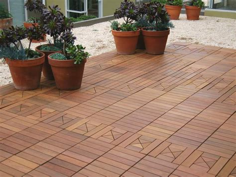 tile tech ipe pavers ipe wood deck tiles and easy outdoor flooring