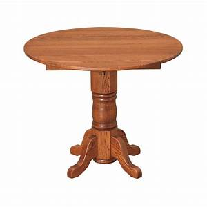 "Amish 36"" Round Extension Table - Country Lane Furniture"