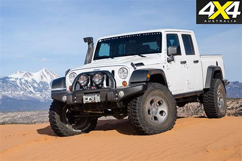 2019 Jeep Ute by Jeep Wrangler Ute Details Confirmed 4x4 Australia