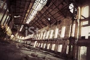 Creepy Old Factory Inside Hangar stock photos - FreeImages.com