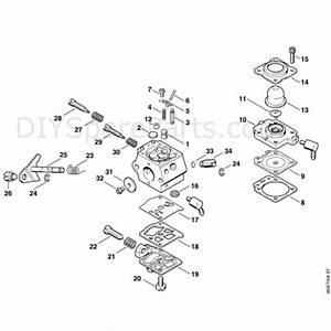 Stihl Fc 72 Edger  Fc 72  Parts Diagram  E