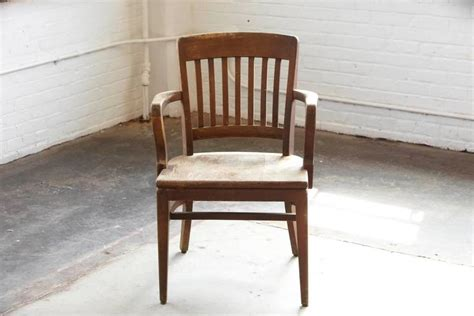 w h gunlocke chair company 1920s solid oak office armchair by w h gunlocke chair co