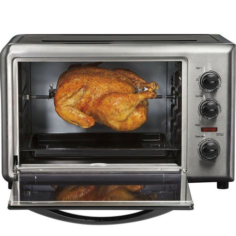 How To Use A Convection Toaster Oven by Hamilton Countertop Convection Toaster Oven W