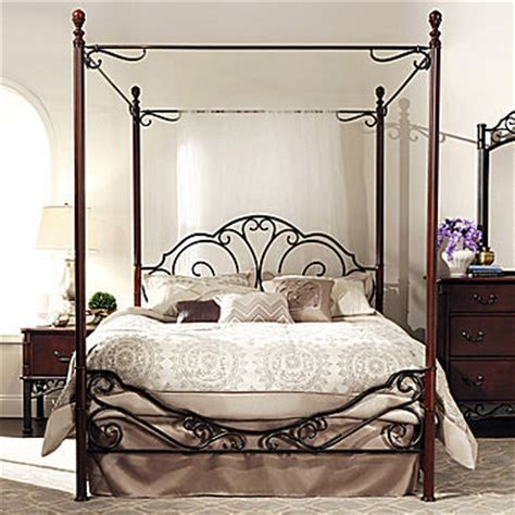 Jcpenny Beds - jcpenney belvedere metal canopy bed shopstyle