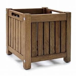 Ikea Pflanzkübel Draußen : ikea bertopf massivholz pflanzk bel wetterfest 30x30cm ebay ~ Michelbontemps.com Haus und Dekorationen