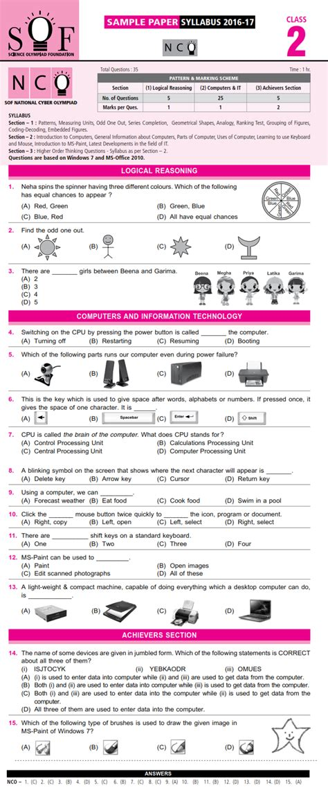 math olympiad worksheets for grade 2 them and