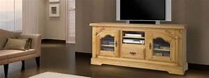 Meuble Tv Bois Massif Moderne : best meuble de salon en bois contemporary awesome interior home satellite ~ Teatrodelosmanantiales.com Idées de Décoration