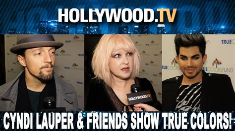 true colors tv show cyndi lauper and friends show their true colors