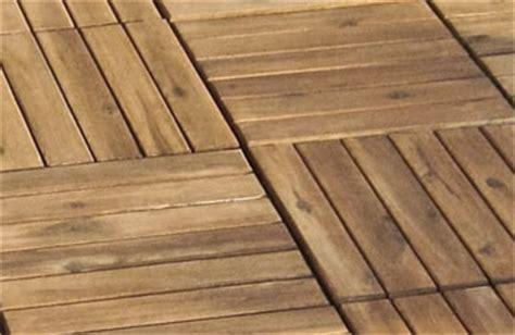 Holzfliesen Für Balkon, Terrasse Einfach Selbst Verlegen