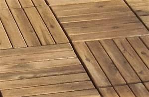 Holzplatten Für Balkon : holzfliesen f r balkon terrasse einfach selbst verlegen ~ Frokenaadalensverden.com Haus und Dekorationen