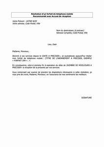 Modèle Résiliation Assurance : lettre de r siliation t l chargement gratuit documents pdf word et excel ~ Gottalentnigeria.com Avis de Voitures