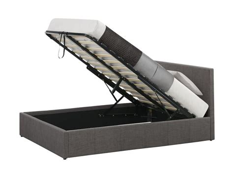 Small Ottoman Bed by Birlea Berlin 4ft Small Fabric Ottoman Bed Frame In