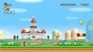 Mushroom kingdom new super mario bros wii wallpaper ...