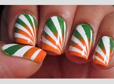 50+ Most Beautiful Flags Nail Art Ideas