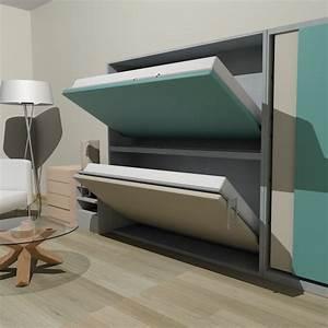 Lit Superposé Rabattable : l me lits meubles escamotables cannes antibes nice ~ Preciouscoupons.com Idées de Décoration