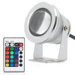 10w outdoor led flood light rgb color changing