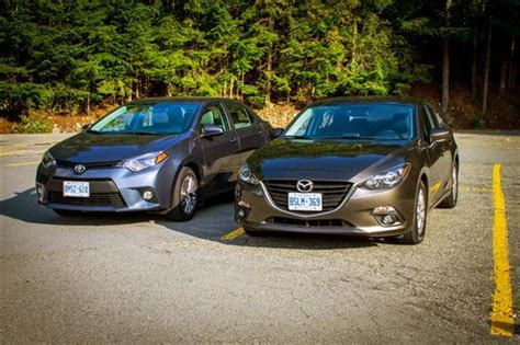 Comparison Test 2014 Mazda3 Vs 2014 Toyota Corolla Autosca
