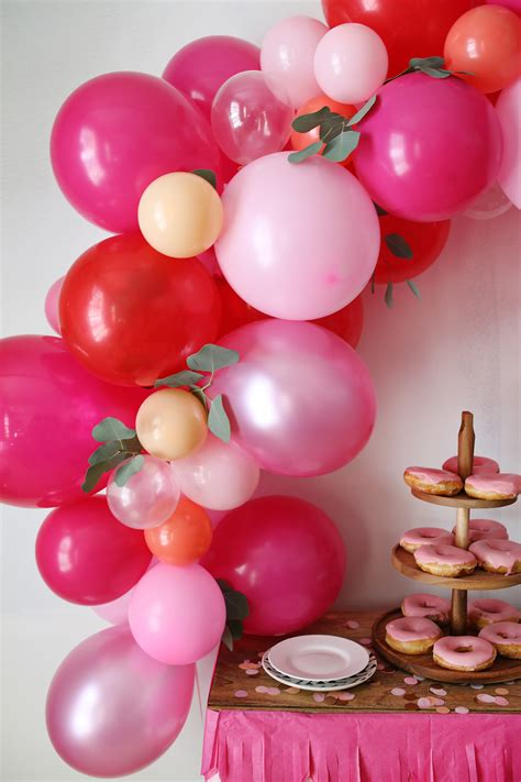 how to make a balloon how to make a fancy balloon arch a beautiful mess