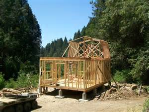 16X24 2 Story Cabin Shed Plans
