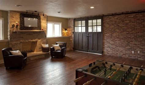 amazing interior design ideas  brick walls style