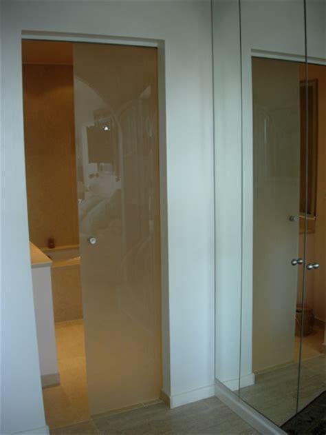 porte de salle de bain vitree porte coulissante pour salle de bain photos de conception de maison duyfron