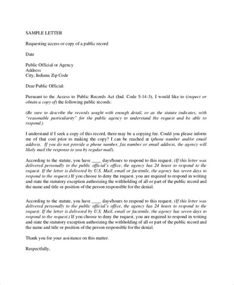 Exle Of Formal Letter Of Request by 12 Sle Formal Request Letters Pdf Word Apple Pages