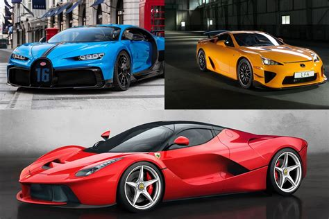 From the Chiron to the LaFerrari - These are the 10 ...
