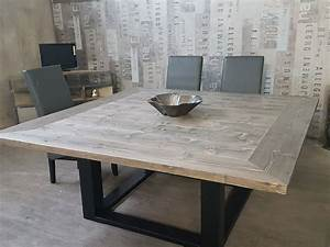 stunning grande table a manger ideas lalawgroupus With meuble de salle a manger avec table À manger bois