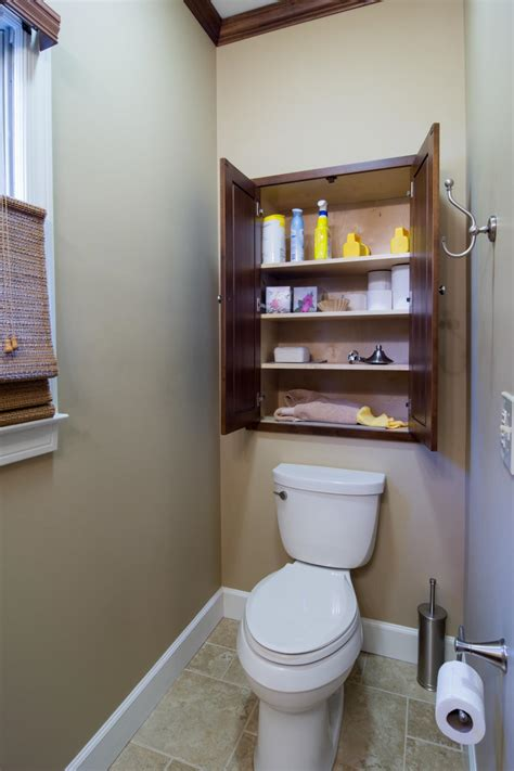 Storage Ideas For Small Bathroom by Small Space Bathroom Storage Ideas Diy Network