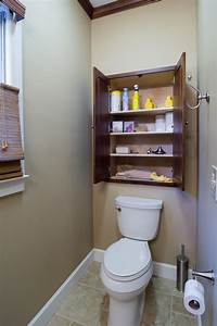 Small space bathroom storage ideas diy network blog for Bathroom cupboard storage solutions