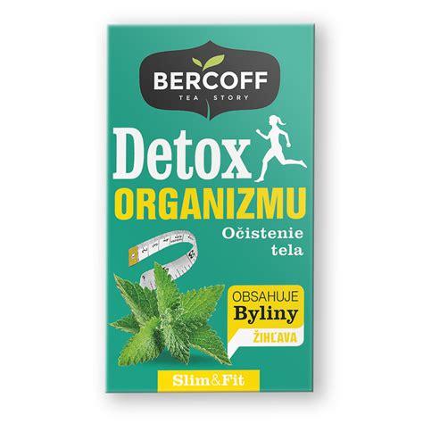 Bercoff Detox organismu bylinný čaj 20 x 1.5 g | Dshopet.cz