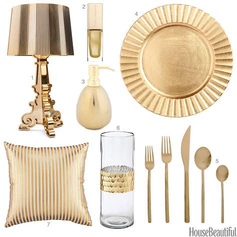 decorative home accessories interiors light gold accessories light gold home decor